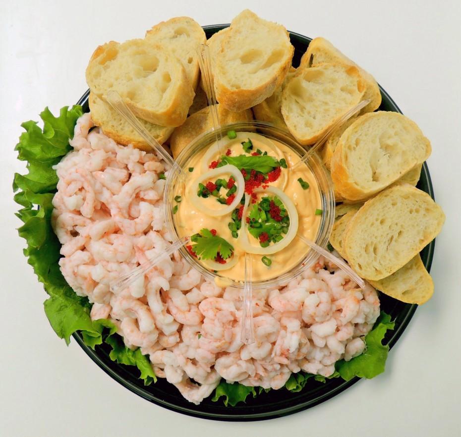 plateau crevettes